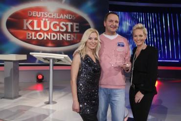 """""""Deutschlands klügste Blondinen"""", Moderation: Bärbel Schäfer, Gastmoderation: Joey Grit Winkler"""